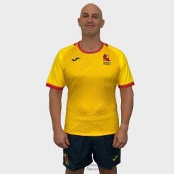 Camiseta juego Joma España Rugby 2ª equipación