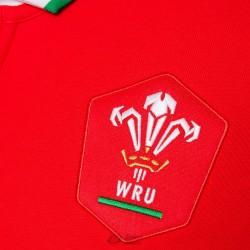 Polo Macron Gales home cotton ls rojo logo Wales