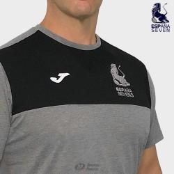 Camiseta Joma España Rugby Seven travel gris