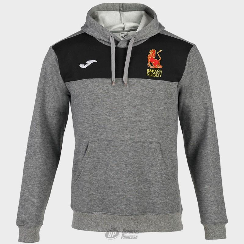 Sudadera Joma España Rugby gris