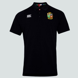 Polo Canterbury British & Irish Lions negro