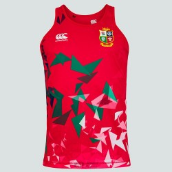 Camiseta tirantes British & Irish Lions roja