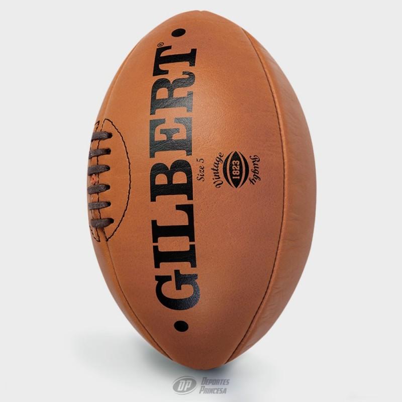 Balón rugby Gilbert vintage