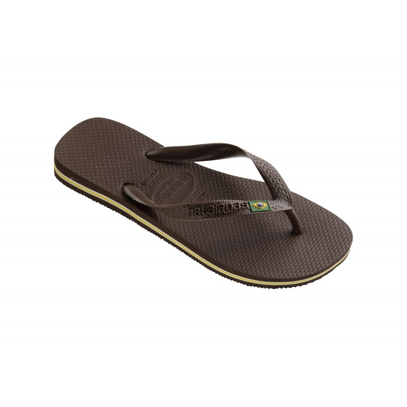Chanclas Havaianas Brasil dark brown