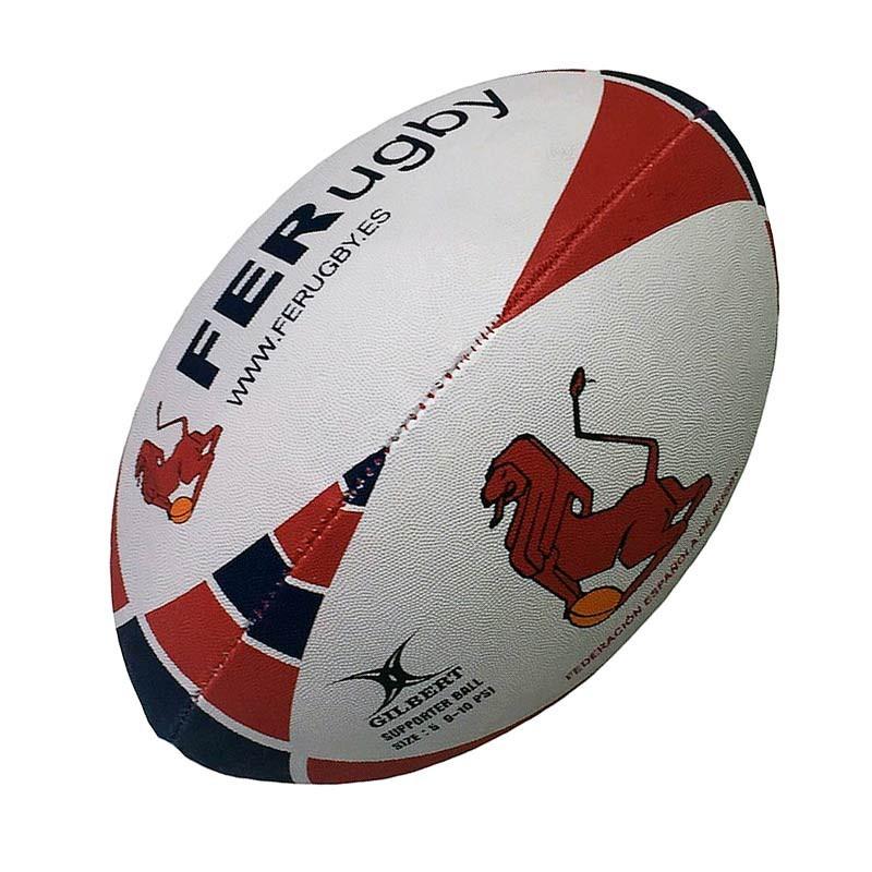 1874acc4afd2e ... Balón Gilbert España Rugby talla 5 ...