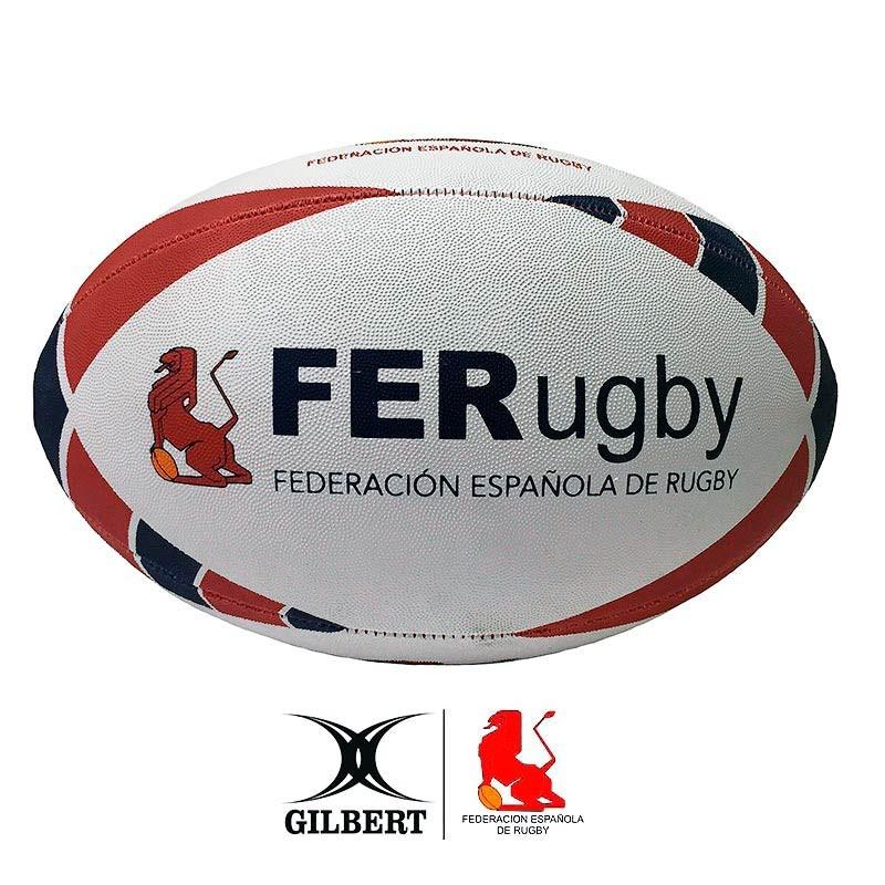 47803c736dacf ... Balón Gilbert España Rugby talla 5