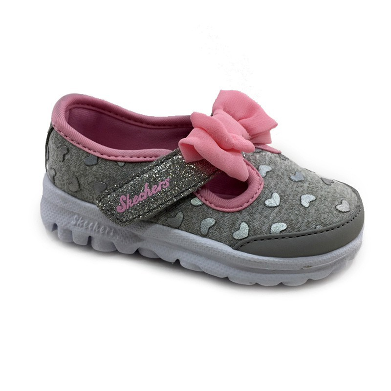 Zapatillas Skechers Kids GO WALK gris