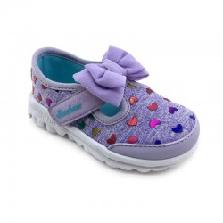 Zapatillas Skechers Kids GO WALK lila