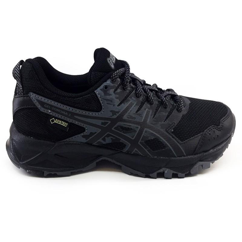zapatillas Asics GEL SONOMA 3  W Gore Tex black - onyx - carbon