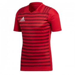 Camiseta Adidas Fitted Rugby Graphic Training Jersey 2 rojo