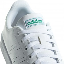 Zapatillas Adidas ADVANTAGE blanco-verde