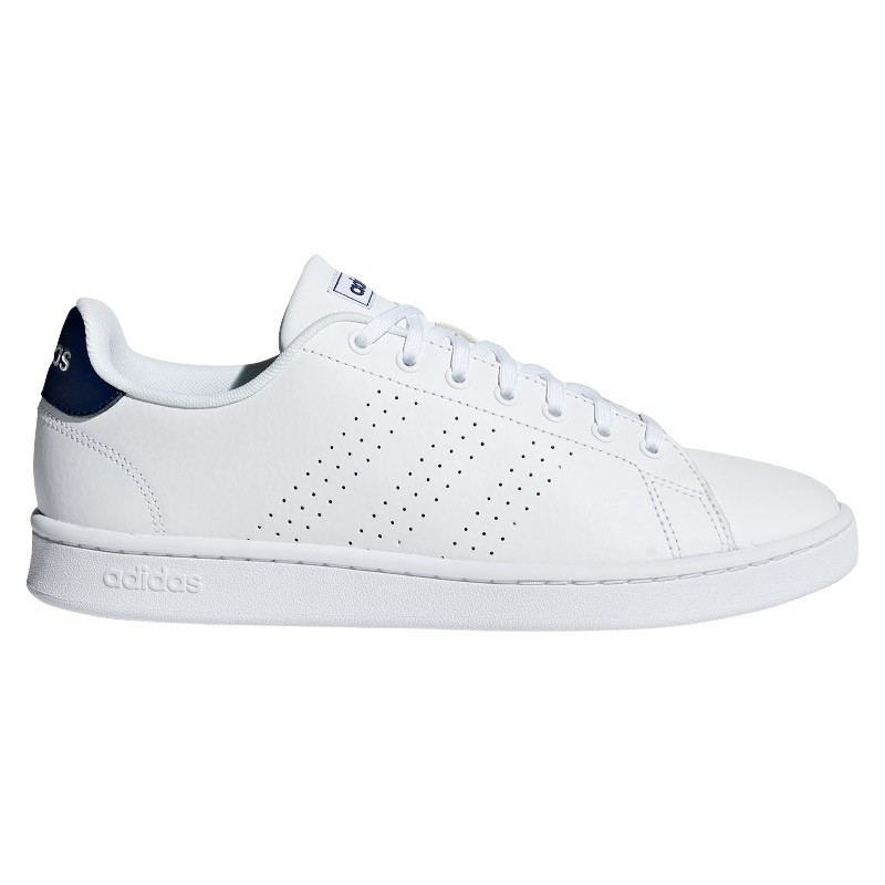 Zapatillas Adidas ADVANTAGE blanco-marino
