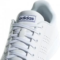 Zapatillas Adidas ADVANTAGE blanco-marino