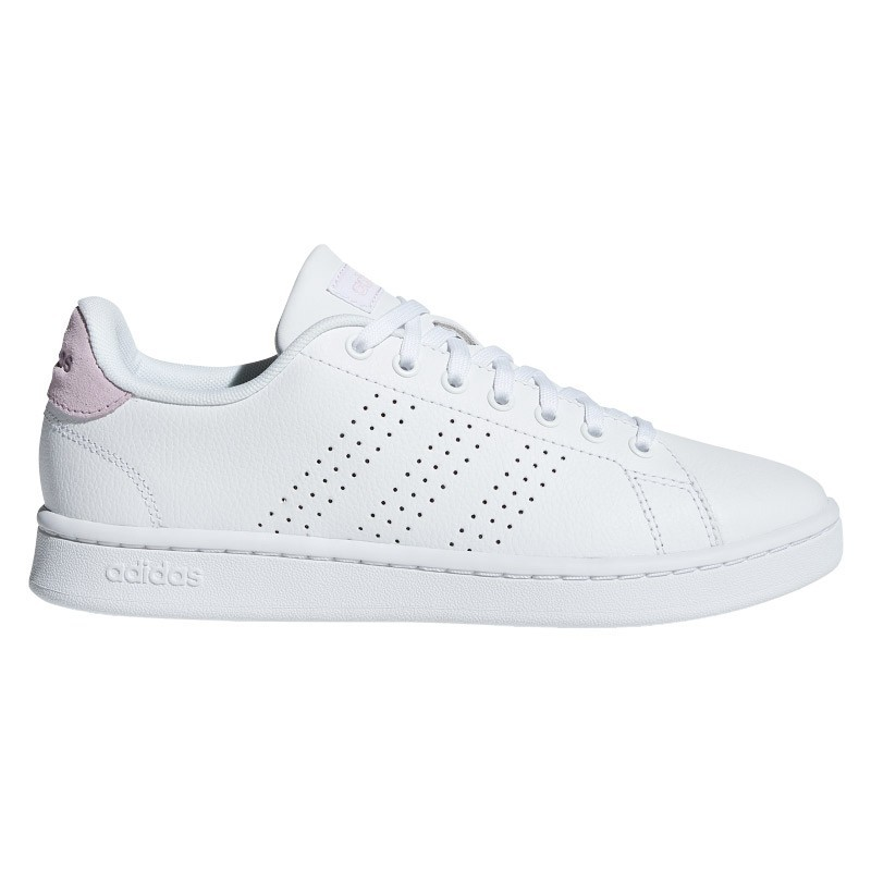 Zapatillas Adidas ADVANTAGE blanco-rosa