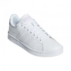 Zapatillas Adidas ADVANTAGE blanco-rosa