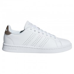 Zapatillas Adidas ADVANTAGE blanco-plata