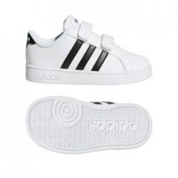 Zapatillas Adidas  BASELINE CMF INF blanco-negro