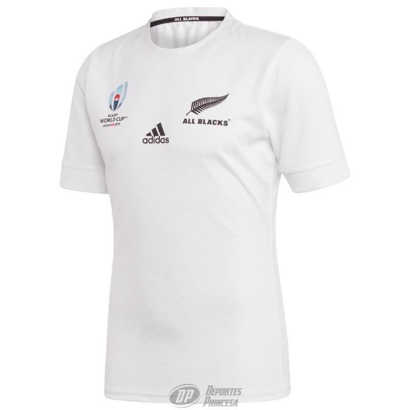 Camiseta rugby Adidas All Blacks away RWC 2019