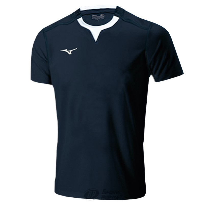 Camiseta rugby Mizuno Team marino