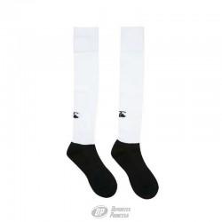 Medias rugby Canterbury team sock blanco