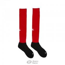 Medias rugby Canterbury team sock rojo