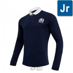 Polo Macron Escocia cotton rugby Murrayfield junior