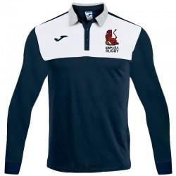 Polo Joma España Rugby supporter navy ls