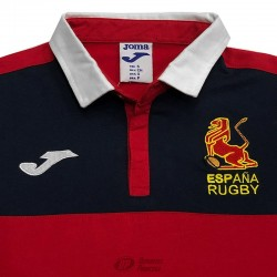 Polo Joma España Rugby supporter red ls