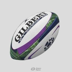 Balón Gilbert Rep. Escocia tartán TALLA MIMI
